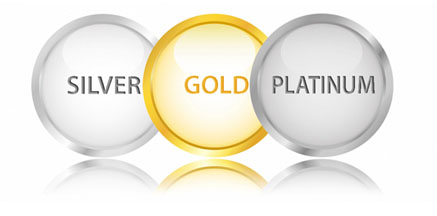 Silver Gold Platinum Packages